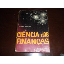 Livro Ciencia Das Finanças Alberto Deodato