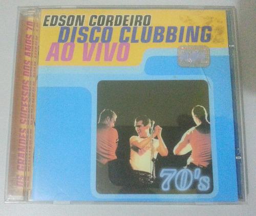 Edson Cordeiro - Disco Clubbing Ao Vivo