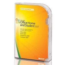 Microsoft Office Windows 2007 Home & Student Fpp Para 3 Pcs