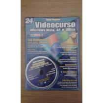 Revista Video Curso Windows Vista, Xp E Office Ano 4 Nº 24