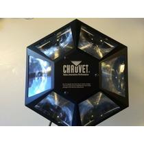 Luz Chauvet 6 Canais Modelo Dmx-512 Led Rotacional Moonflowe