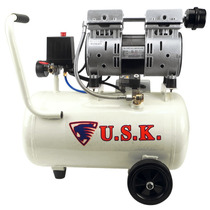 Compressor Ar Odonto 0,75hp Silencioso 8 Bar S/ Óleo 550-24l