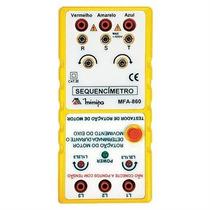 Sequencimetro Faixa De Frequencia 45hz~70hz Minipa
