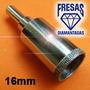 Brocas Para Vidro Diamantada 16mm Para Aquários E Garrafas