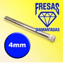 Brocas Para Vidro Diamantada 4mm