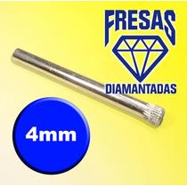 Brocas Para Vidro Diamantada 4mm