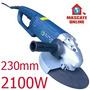 Esmerilhadeira Angular Profissional 2100w 230mm. Lixadeira