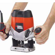 Tupia De Coluna Profissional E Kit Black&decker 1200w 220v
