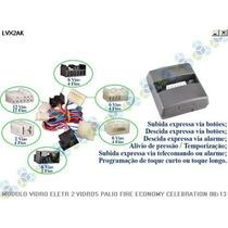 Modulo Vidro Eletrico Palio Economy 02/10 - Tury