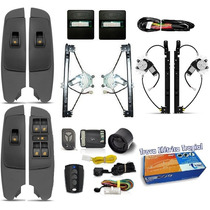 Kit Vidro Eletrico Palio Fire Way 2014 15 16 +trava + Alarme