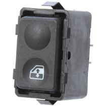 Interruptor Botão Vidro Elétrico Simples Ford Escort Console