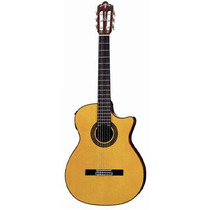 Violão Elétrico Snt 380 Eq Yellow Nylon Com Bag Hsb Crafter