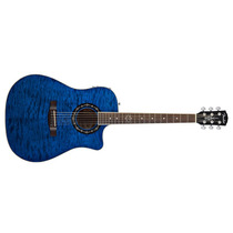 Violão Fender Folk Aço Eletroacust T-bucket 300ce Azul 3601
