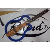 Violão Ramá Natural Blue Vazado 2014 Luthier Silent Guitar