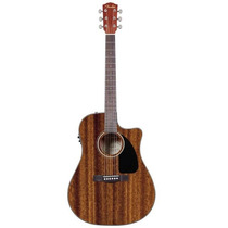 Violao Fender Dreadnought Cd60 Ce All Mahogany C/ Case