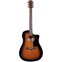 Violão Elétrico Cutway Cd-60 Ce Sunburst - Fender Com Case!