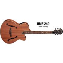 Violão Vintage Eagle Hofma Hmf240 Aço Eletroacústico Folk