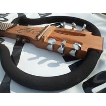 Violão Ramá Natural Vazado Aço Steel Luthier Silent Guitar
