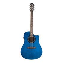 Violao Fender 096 8079 T-bucket 300ce Blue Cheiro De Musica