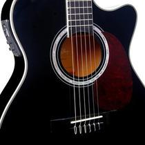 Promoção-violão Elet Nylon Di Giorgio W. Black+ Capa Brinde
