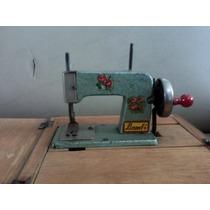 Mini Máquina De Costura De Brinquedo.