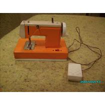 Mini Máquina De Costura Antiga De Ferro Brinquedo Japones