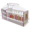 Berço Para Boneca Cristal Brinquedo Infantil Criança Teruske