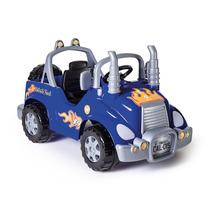 Brinquedo Novo Truck Azul Pedal Caminhão Da Calesita