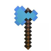 Machado Diamante Do Minecraft De Eva 50 Cm