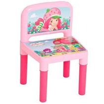 Cadeira Personagem Moranguinho Brinquedo Infantil Multibrink