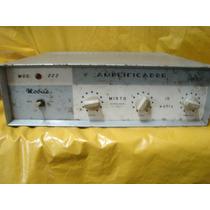 Amplificador Delta Antigo Mod.222 - Valvulado - Luz/bat