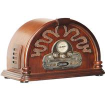 Radio Capela Oldway Cd/usb/mp3/sd 110/220v Carro De Mola