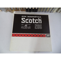 Fita Scotch 206 2500 Pés Para Gravador De Rolo 1/4 10,5 Pol