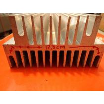 Dissipador Aluminio Perfil Duplo 44 /montagem Amplificadores