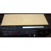 Rádio Relógio Philips As470/00 P/ Reparos Ou Tirar Peças