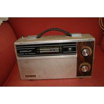 Radio Antigo 3 Faixas Guaruja -motoradio-sony-philips-sanyo!
