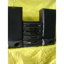 Conjto De Som Sony Lbt -46w - C/ T. Disco+cd+fm/am+2 Cx.-k7.