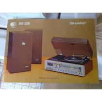 Correias Para Deck 3x1 Sharp Sg-220