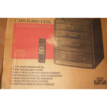 Conjto De Som 4 X 1 - Sharp Cms R 260 Cdx - Novo Na Caixa