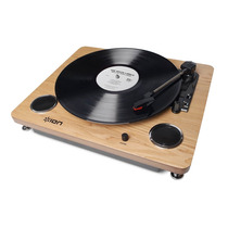 Toca-discos De Vinil Retro Converte O Audio P/ Pc Via Usb