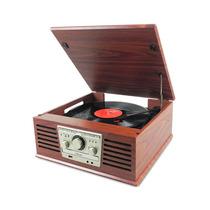 Toca-discos Ctx Sonata Rádio Fm Cd Player Entrada Usb Bivolt