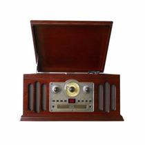 Toca Discos Hi-fi Ctx Classic Hi-fi Rádio Am/fm, Casset, Cd