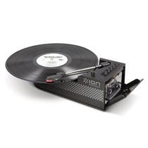 Toca-discos Fita K7 Portátil Alto-falante Conv. Digital