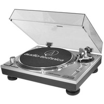 Vitrola Toca Discos Audio Technica At-lp120 Usb Dj