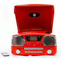 Toca Discos Memphis Com Cd, Rádio Am Fm, Usb, Sd Card, Entr