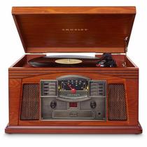 Vitrola Toca Discos Crosley Vintage Retro + Cd + Fita