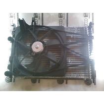 Conjunto Kit Radiador Condensador Ventoinha Fiat Palio Fire