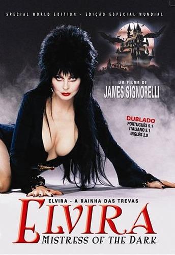 Elvira - A Rainha Das Trevas Dvd Decada De 80 Terror