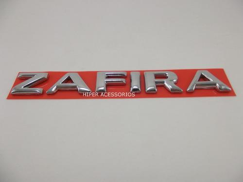 Emblema Zafira 2002 Em Diante Cromado