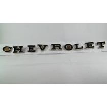 Emblema Chevrolet Antigo (l.e.t.r.a.s) Jogo